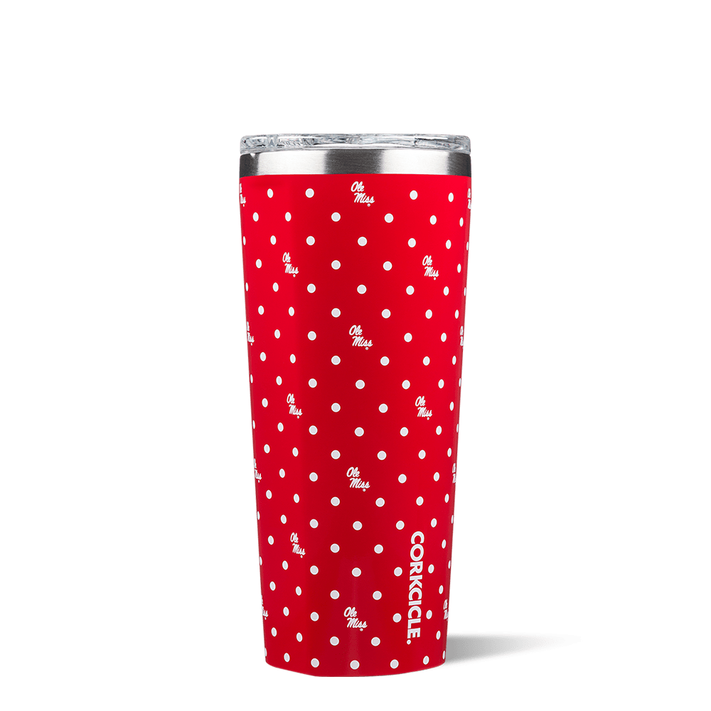 University of Mississippi Polka Dot Tumbler