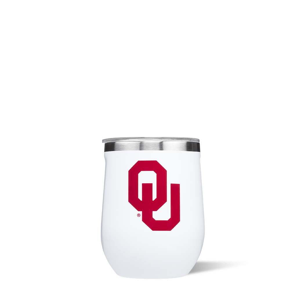 University of Oklahoma Stemless Cup