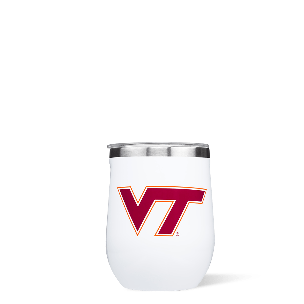 Virginia Tech Stemless Cup