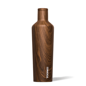 Walnut Wood 25oz Canteen product photo.