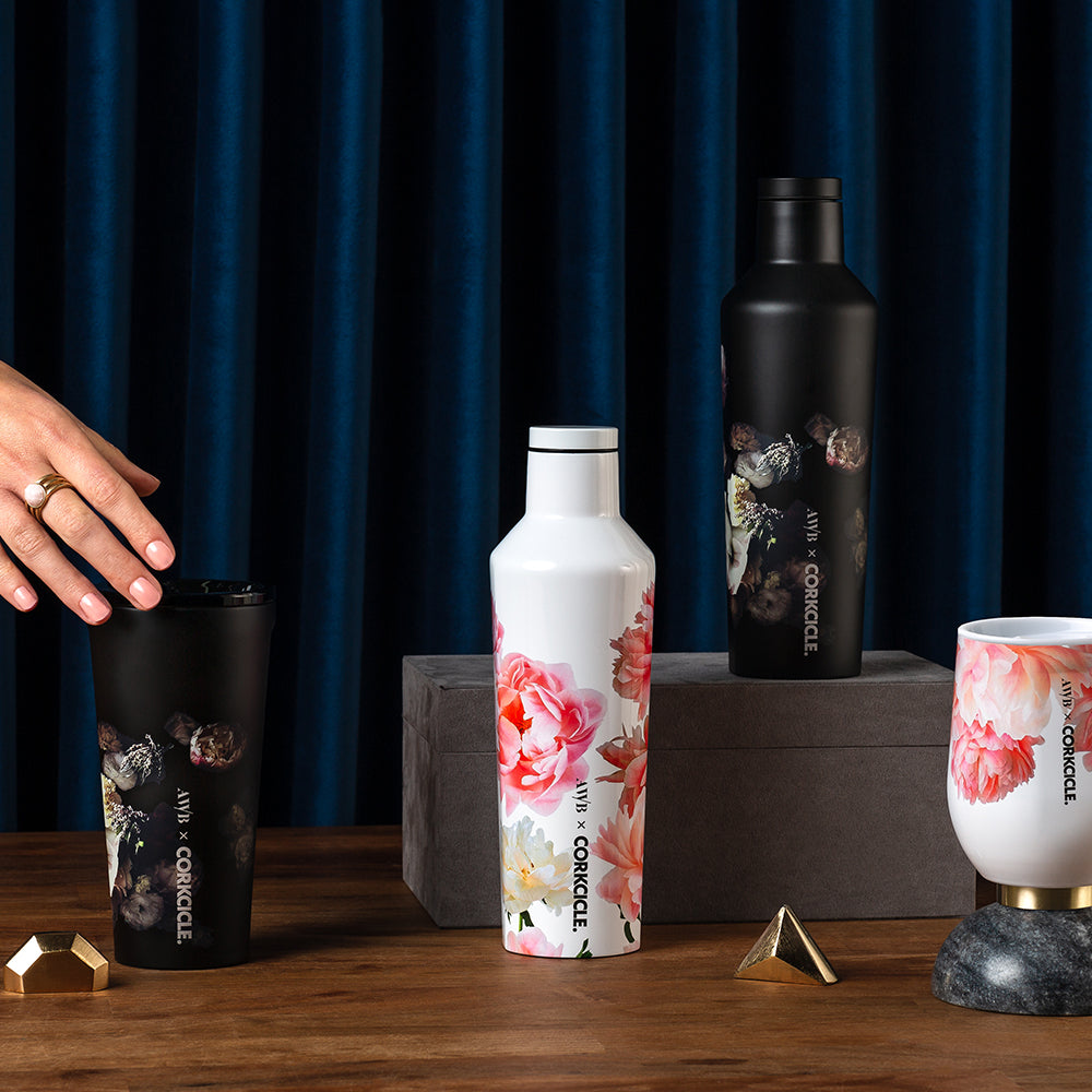 Ashley Woodson Bailey x Corkcicle Tumbler lifestyle image