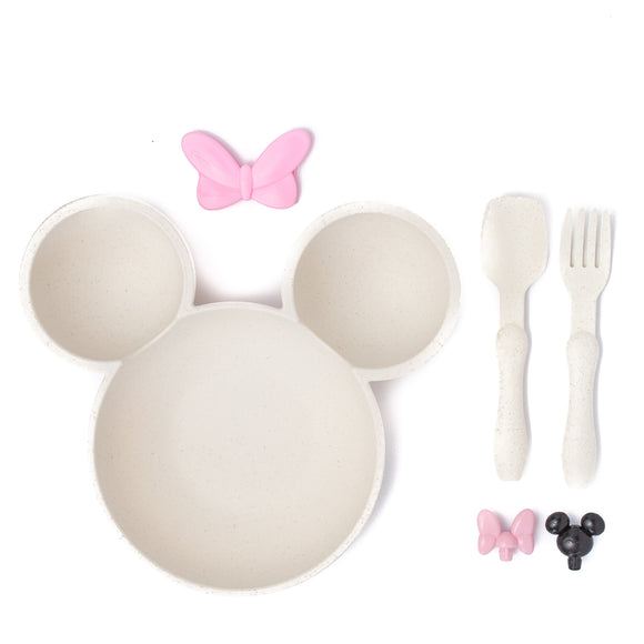 Mouse Ears Children's Bowl (Cream)