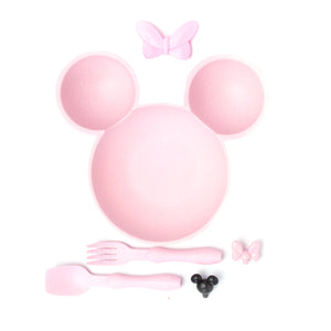 Mouse Ears Children's Bowl (Pink)