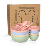 Mouse Ears Children's Bowl (Blue)