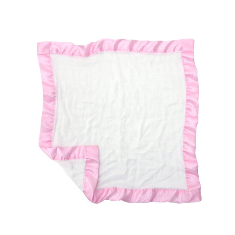 Comforter 100% bamboo with satin pink edges (pack of 2)