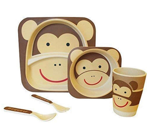 Monkey Bamboo dining set