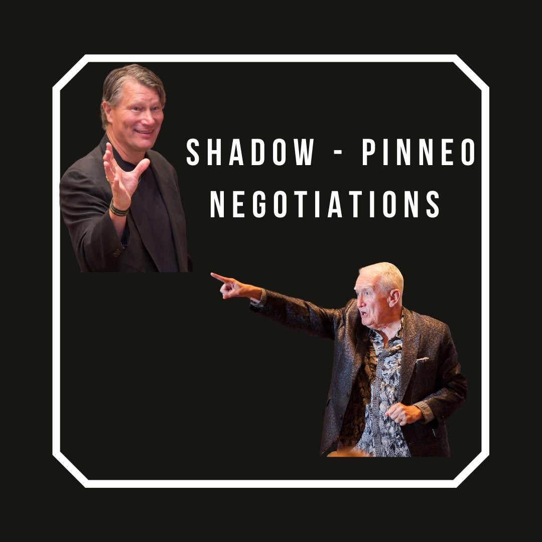Dr. Shadow & Greg Pinneo Negotiations Seminar Recording