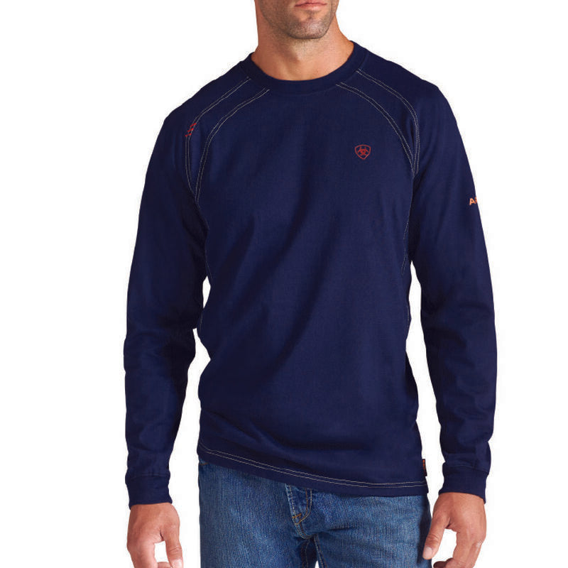 Ariat FR Work Crew Neck Long Sleeve T-Shirt