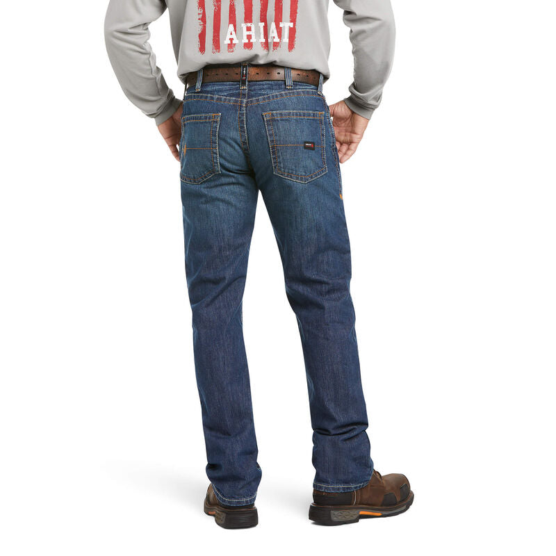 Ariat FR Men's M5 Basic Stackable Straight Leg Jeans