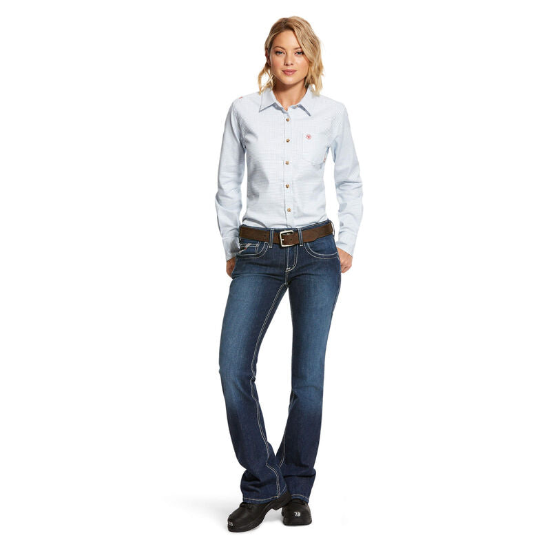Ariat FR Women's Hermosa DuraStretch Work Shirt