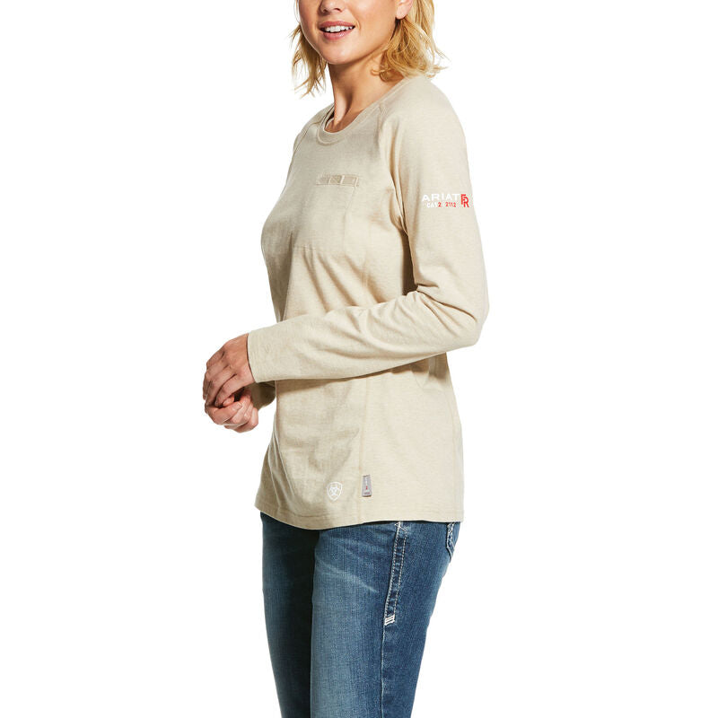 Ariat FR Women's Air Crew Neck T-Shirt