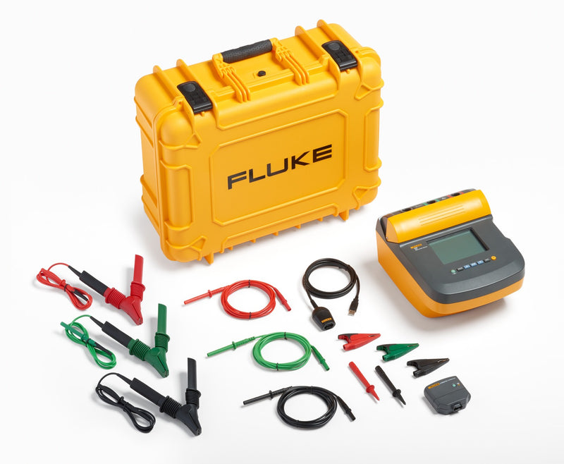 Fluke 1550C FC 5 kV Insulation Tester Kit with IR 3000FC 1550 Connector