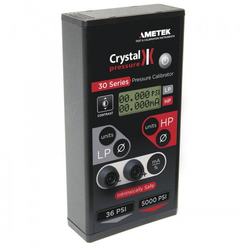 Crystal Engineering IS33 30 Series Dual Pressure Calibrator