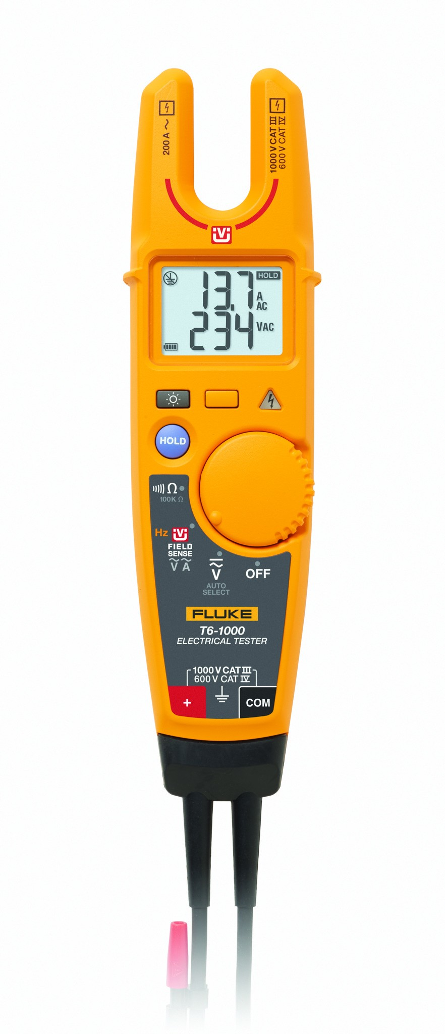 Fluke T6-1000 Pro Electrical Voltage Tester with FieldSense Technology