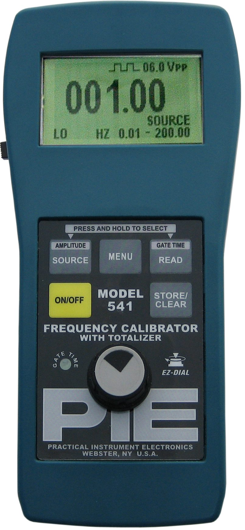 PIE 541 Frequency Process Calibrator with Totalizer Function