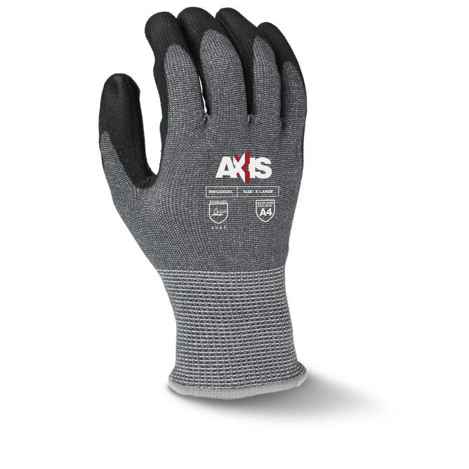 Radians Axis Cut Protection Level A4 PU Coated Gloves