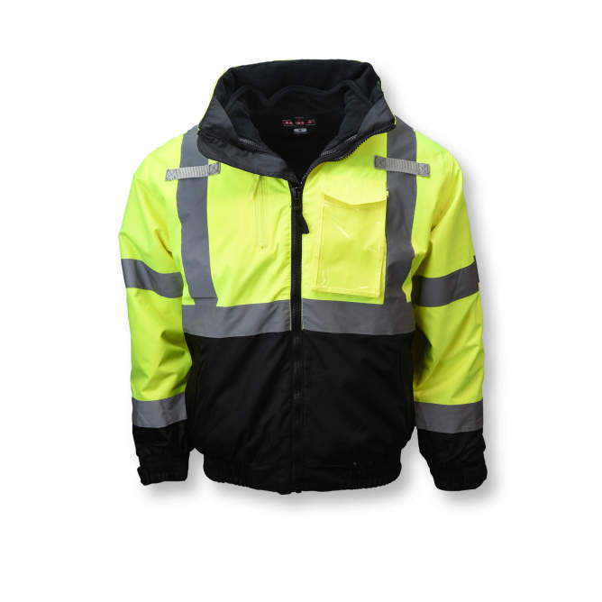 Radians 3-in-1 Deluxe High Visibility Bomber Jacket