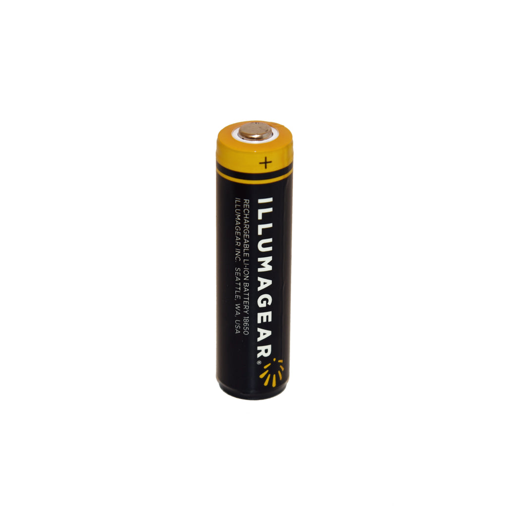 ILLUMAGEAR 18650 Lithium Ion Rechargeable Batteries (2-Pack)