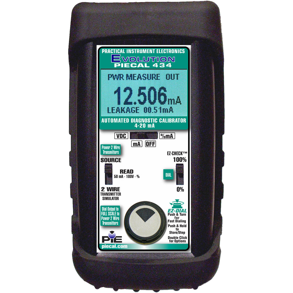 PIE 434 milliAmp Loop Diagnostic Calibrator