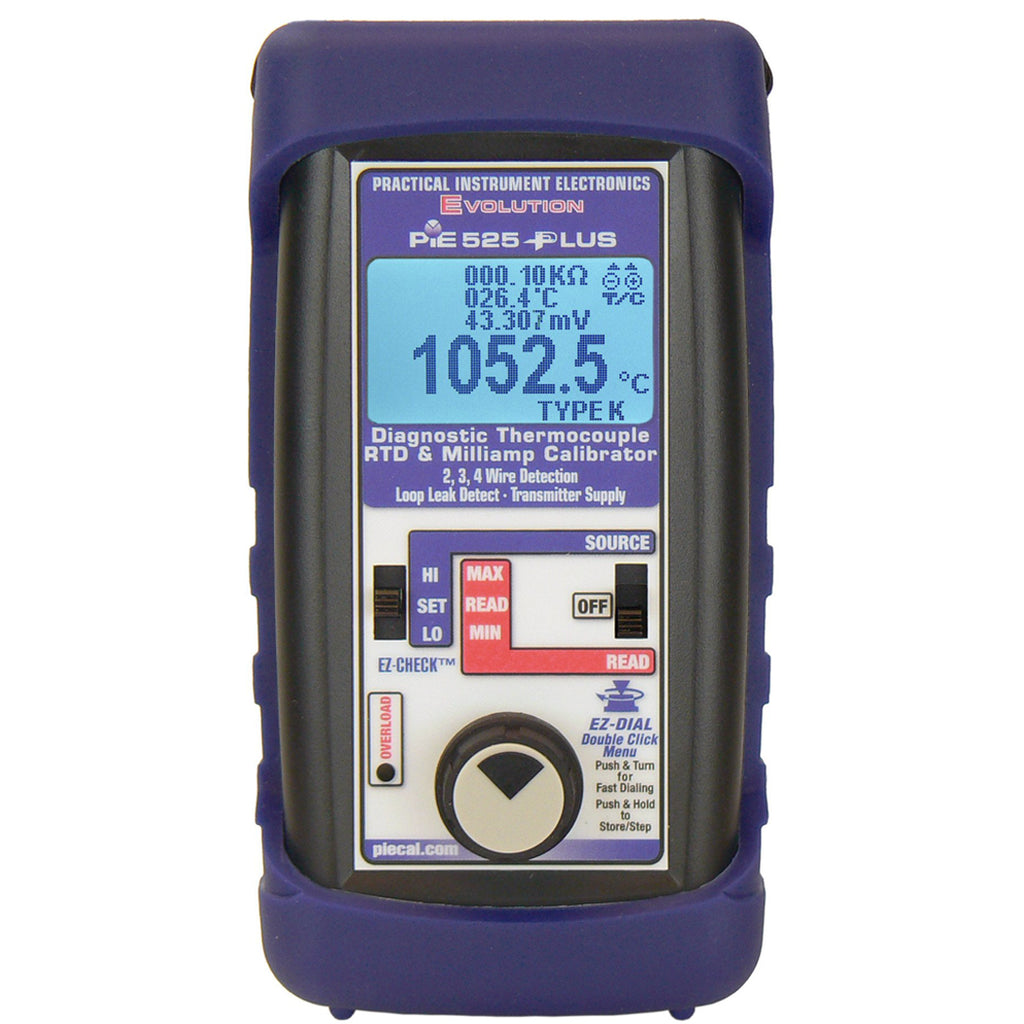 PIE 525Plus Diagnostic Temperature & mA Calibrator