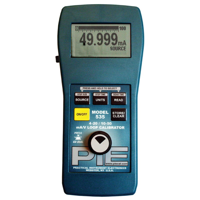 PIE 535 10-50 mA & Voltage Process Calibrator