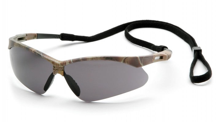 Gray Anti-Fog Lenses with Camo Frame