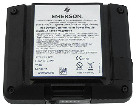 Emerson Rechargeable Li-Ion Power Module