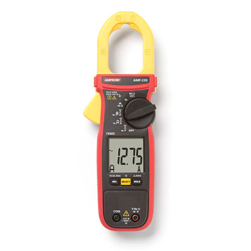 Amprobe AMP-220 600A AC/DC TRMS Clamp Meter