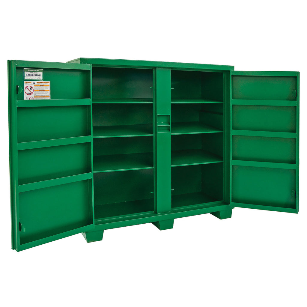 Greenlee 5660L 2-Door Storage Cabinet
