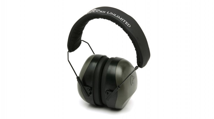 Duck's Unlimited NRR 26 dB Low Profile Gray Earmuff