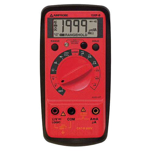 Amprobe 15XP-B Digital Multimeter VolTect Non-Contact Voltage Detection