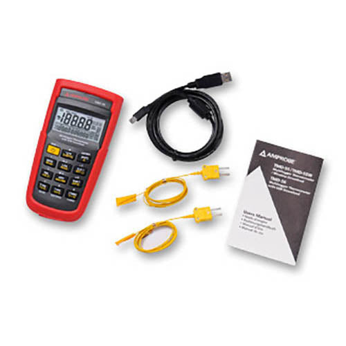Amprobe TMD-56 Multi-logging Digital Thermometer with .05% Basic Accuracy