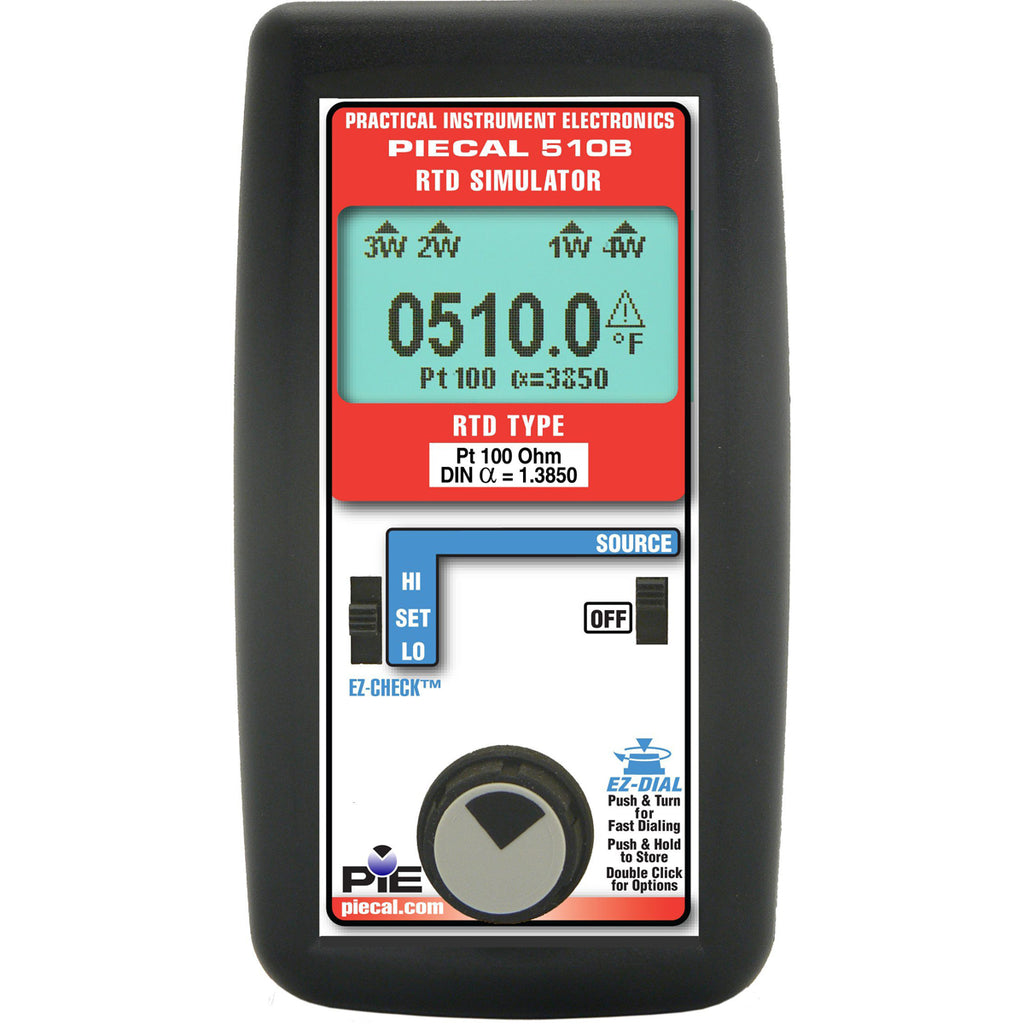 PIE 510B Single-Type RTD Calibrator