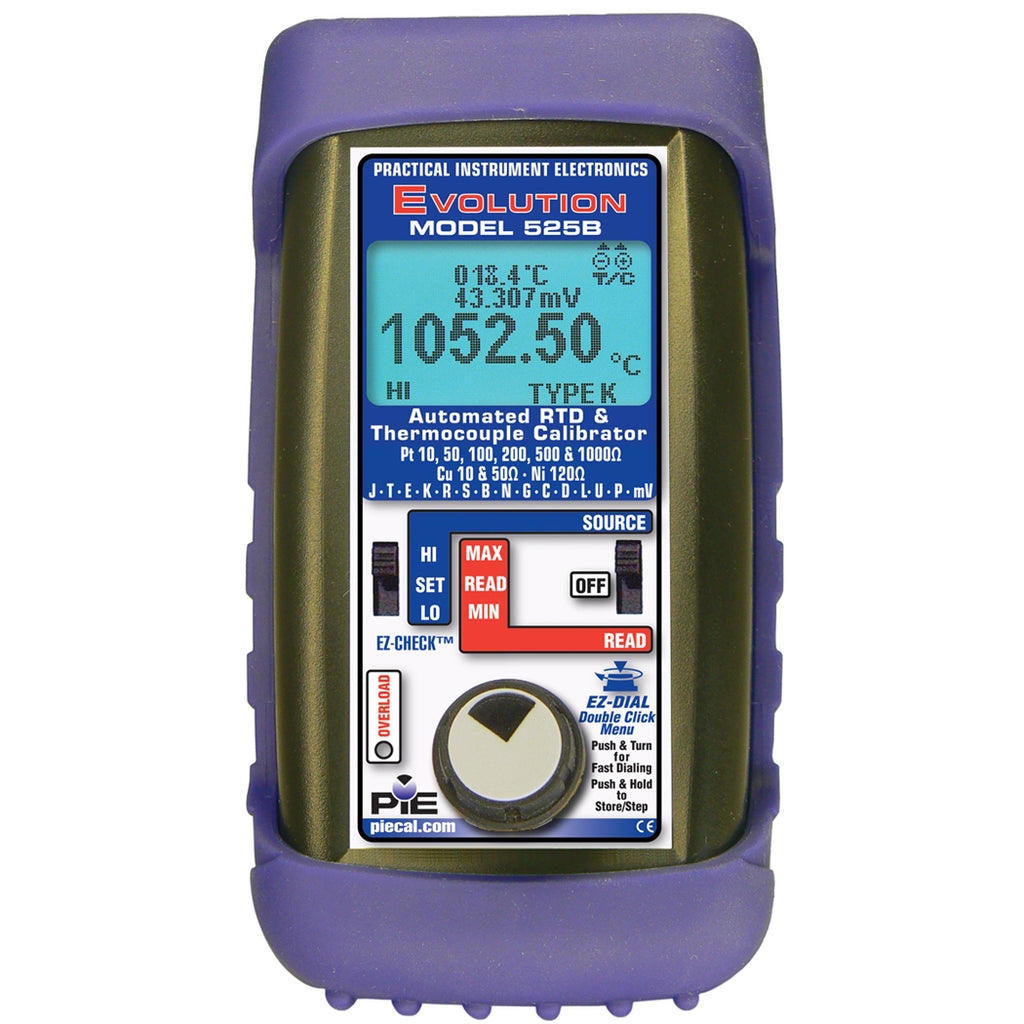 PIE 525B RTD & Thermocouple Calibrator