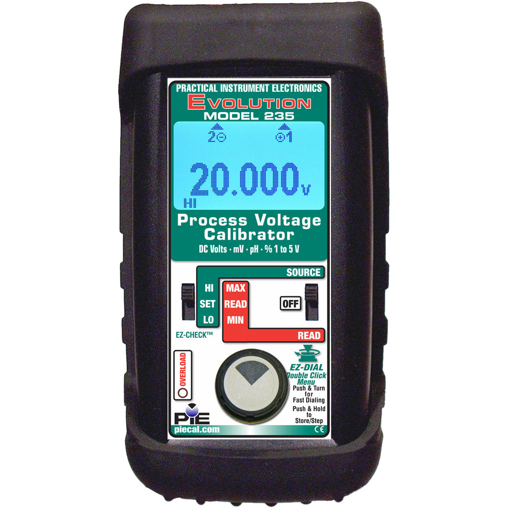 PIE 235 pH & Voltage Process Calibrator