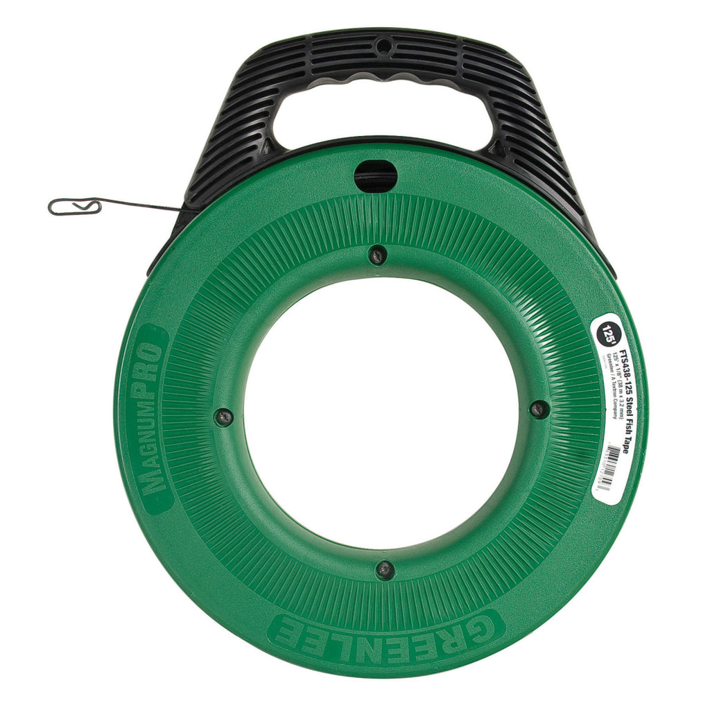 Greenlee Steel Fishtape 125'