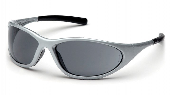 Gray Lenses with Silver Frame