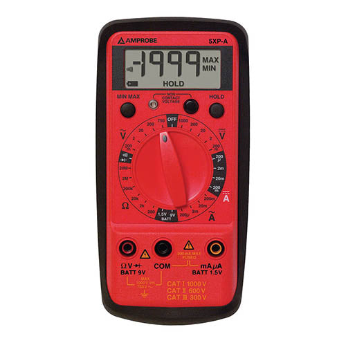 Amprobe 5-XP-A AC/DC Compact Digital Multimeter with VolTect?