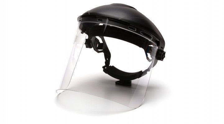 PC Cylinder Clear Facesheield Visor