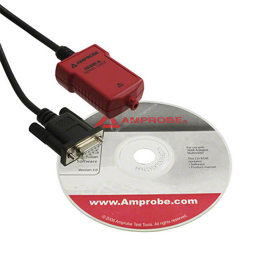 Amprobe 38-SW-A RS232 Software Cable
