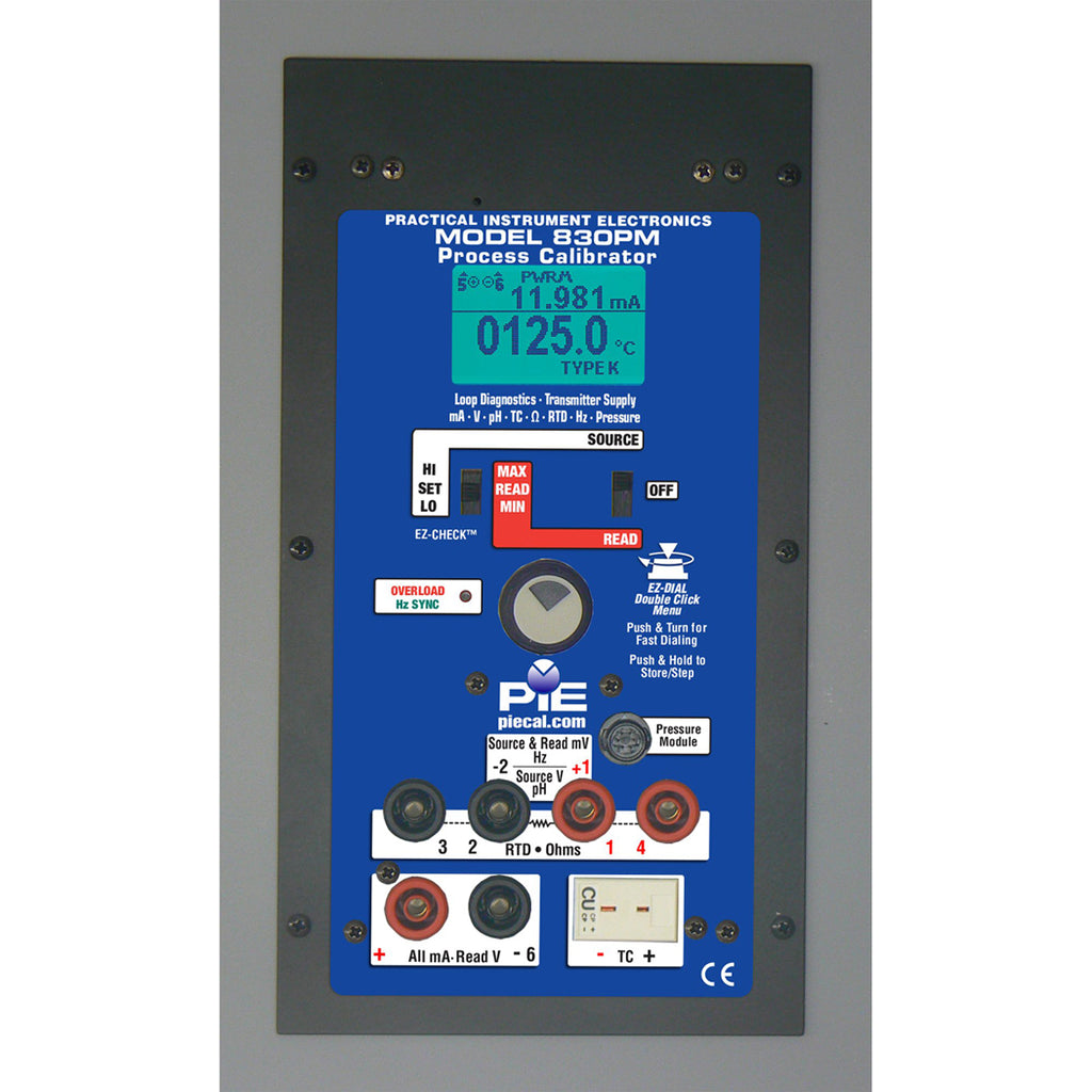 PIE 830PM Multi-function Diagnostic Panel Mount Calibrator