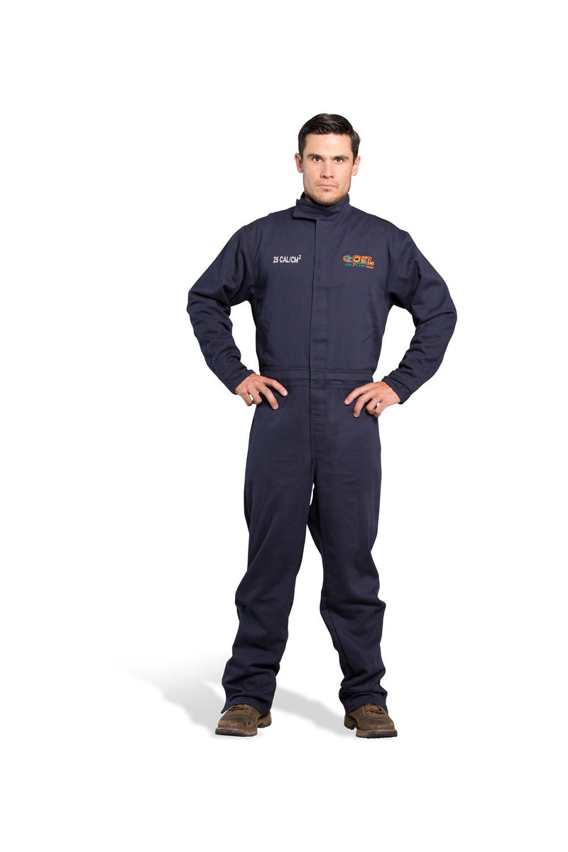 OEL 25 cal/cm2 ARC Flash Protection Coveralls