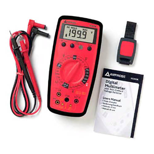 Amprobe 30-XR-A Auto Ranging DMM with VolTect Non-Contact Voltage Detection