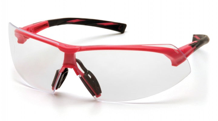 Clear Lenses with Pink Frame