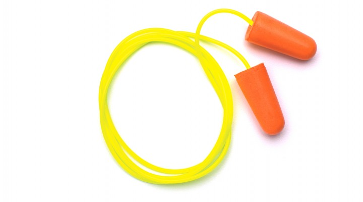Corded Taper-Fit Disposable Earplugs - NRR 31db - 100 pair/box