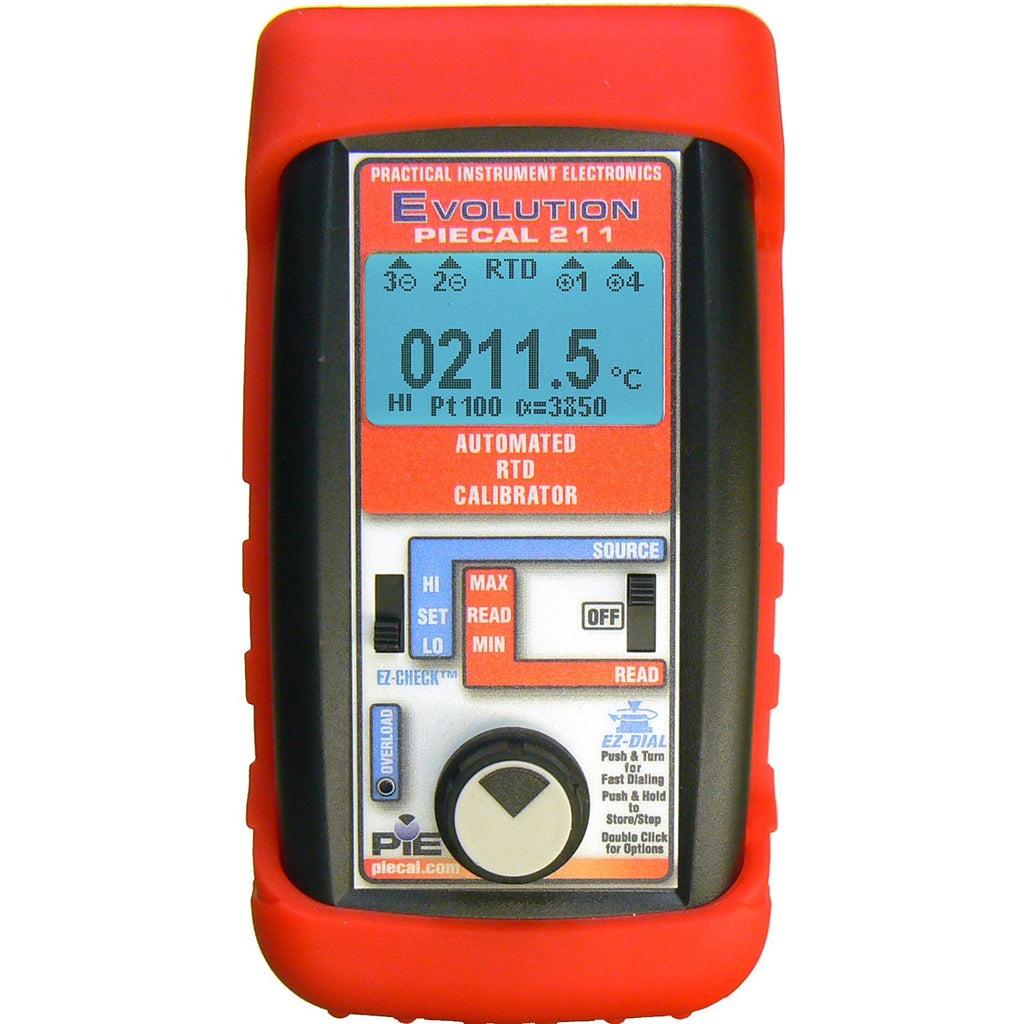 PIE 211 RTD Process Calibrator