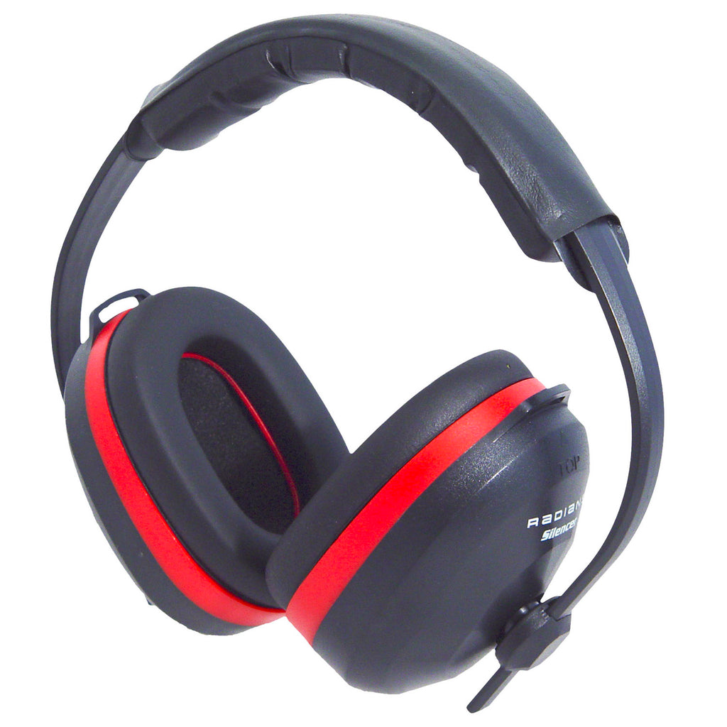 Silencer Black Earmuff Clamshell