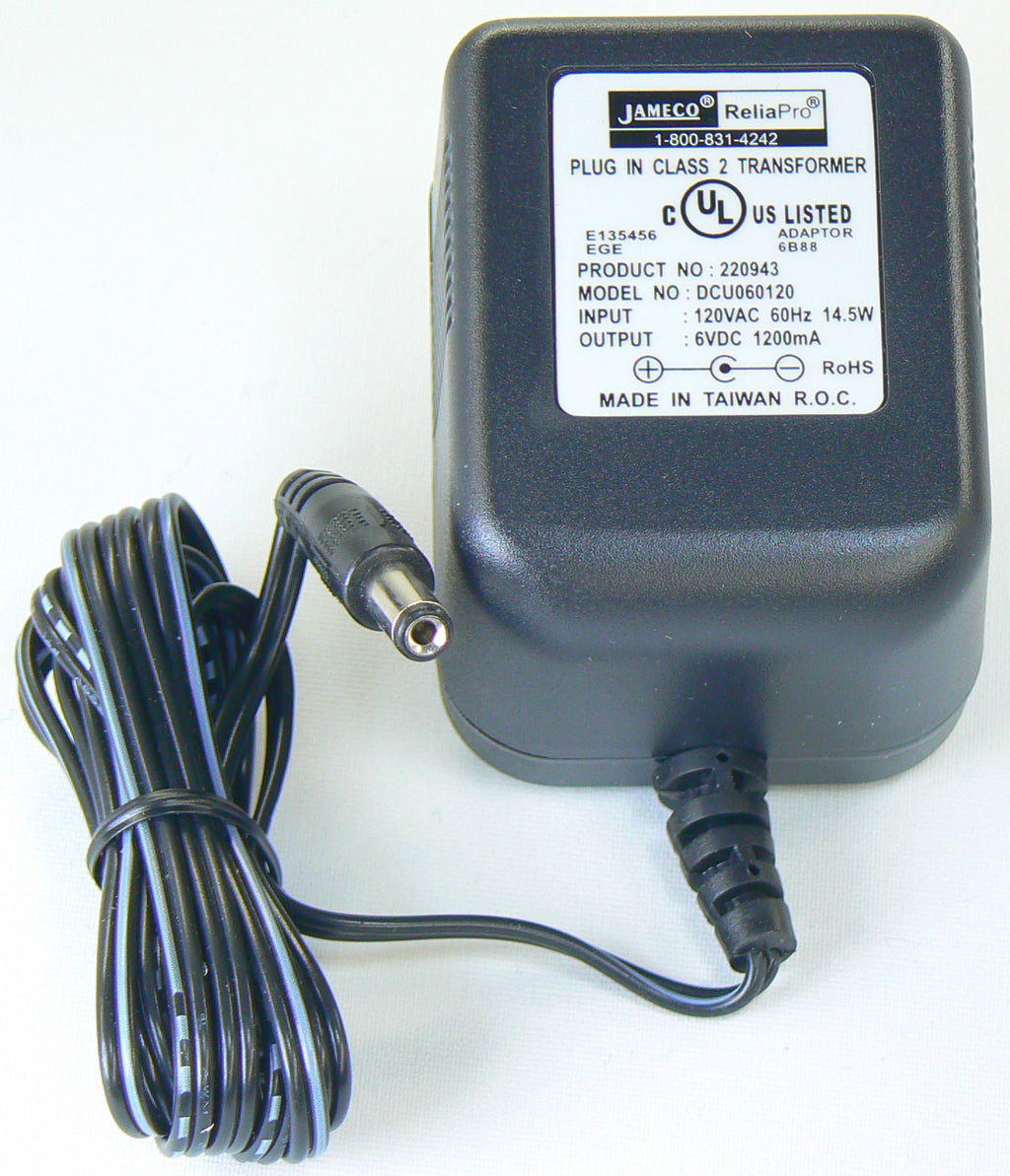 121 V AC 60Hz ? Output 6V DC 1A Power Adaptor (North America)