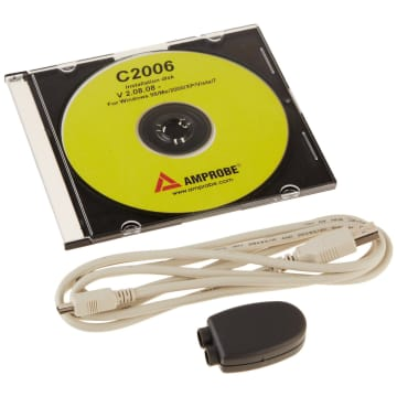 Amprobe C2006 Optical Serial to USB Type A Cable