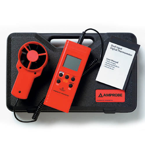 Amprobe TMA-10A Anemometer with Flexible Precision Vane